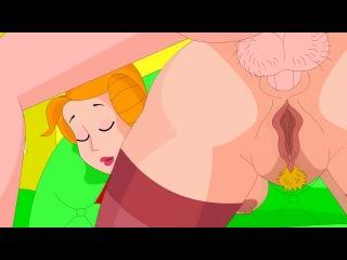 [cartoongonzo] Dennis the Menace. Порно мультик